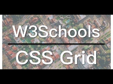 CSS Grid Responsive Layout - W3Schools Video 03