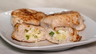 Как готовить вкусные куриные котлеты с начинкой из сыра и яйца куриного