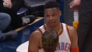 Russell Westbrook Punch Jamal MurrayNuggets After Exchanging Shoves In Heated!