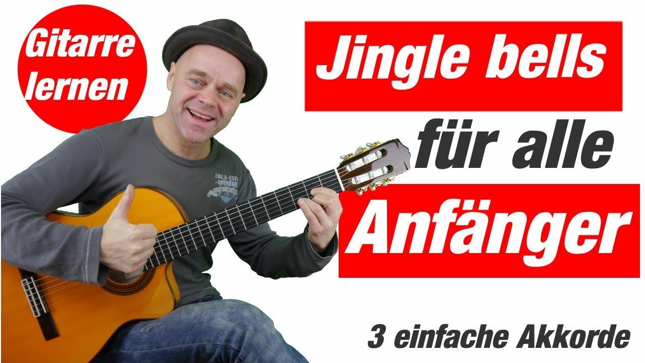 jingle bells gitarren anf nger mit einfachen akkorden. Black Bedroom Furniture Sets. Home Design Ideas