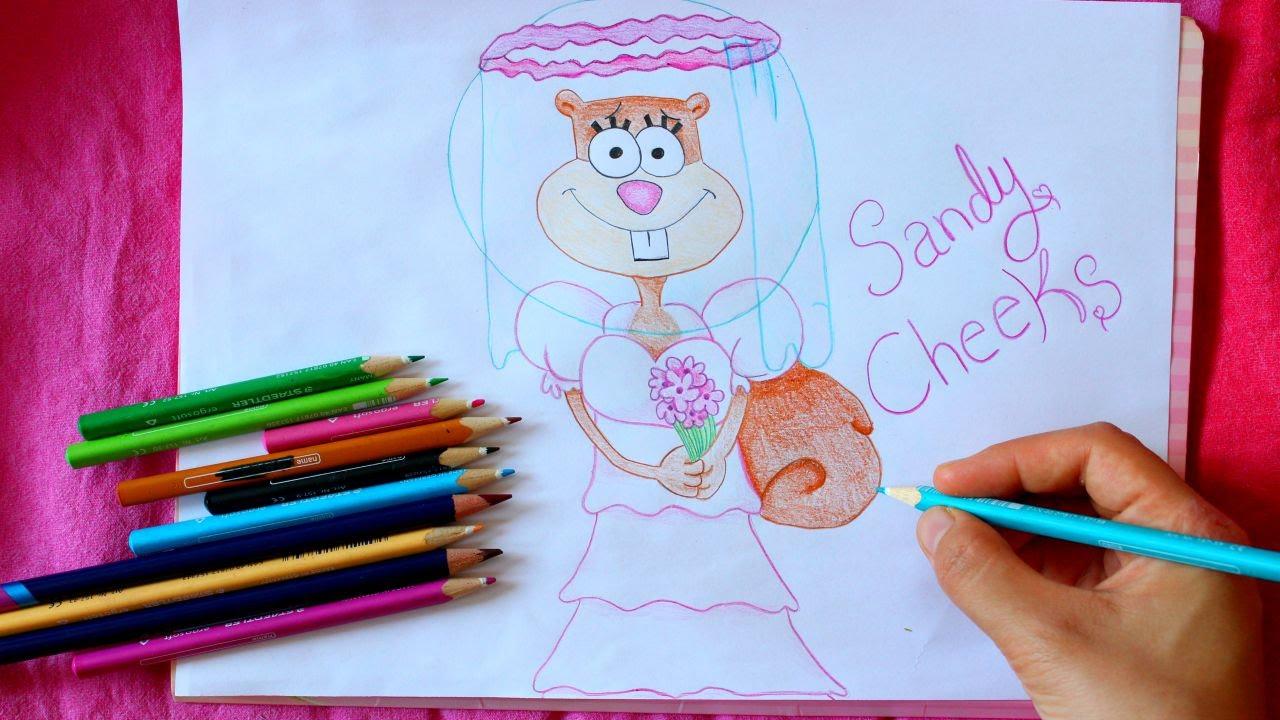 spongebob how to draw dvd