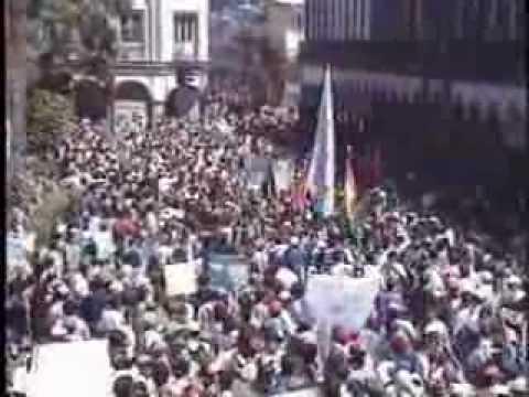 La Guerra del Agua Cochabamba 2000  -  2ª parte