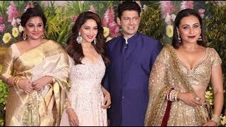 Madhuri Dixit, Rani Mukherjee And Vidya Balan At Sonam Kapoor Reception