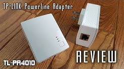 TP-LINK TL-PA4010 Powerline Internet Adapter REVIEW