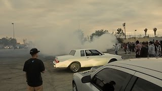 Авто-тусовка  в  Гетто (Комптон, Южный Лос-Анджелес) | Влог