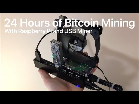24 Hours Of Bitcoin Mining!!