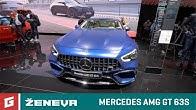 Mercedes AMG GT 63S 4-Door coupe  - GARÁŽ.TV - ŽENEVA 2018