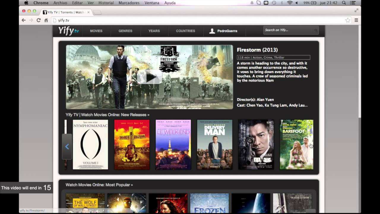 Yify.tv  The Best Site to Watch Movies Online Free in HD (2014) - YouTube