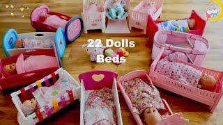 Baby Born Baby Annabell Huge Bedroom 22 Dolls Bed Bunk Bed Cradle 28 Baby Dolls Super Nursery Room