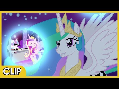 Celestia Beginning Luna's Duties - MLP: Friendship Is Magic [Season 7]
