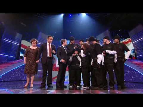 """Voting Results - BGT 2009 Semi-final #1"""