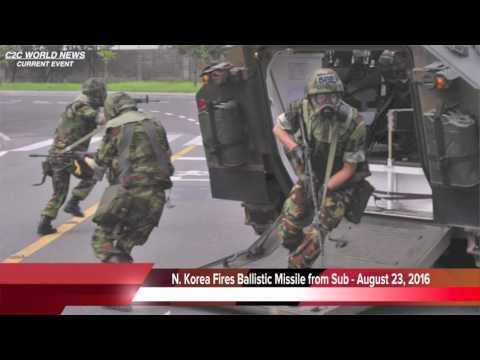 BREAKING NEWS - North Korea Fires Ballistic Missile - 08/23/16