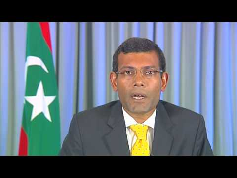 Globe Forum - President of the Maldive Islands Address