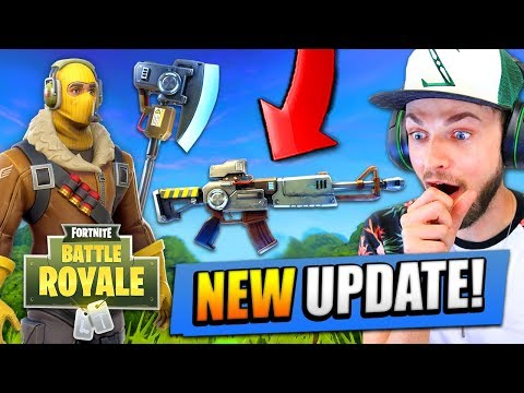 *NEW* UPDATE for Fortnite: Battle Royale! (New Guns, Maps +
