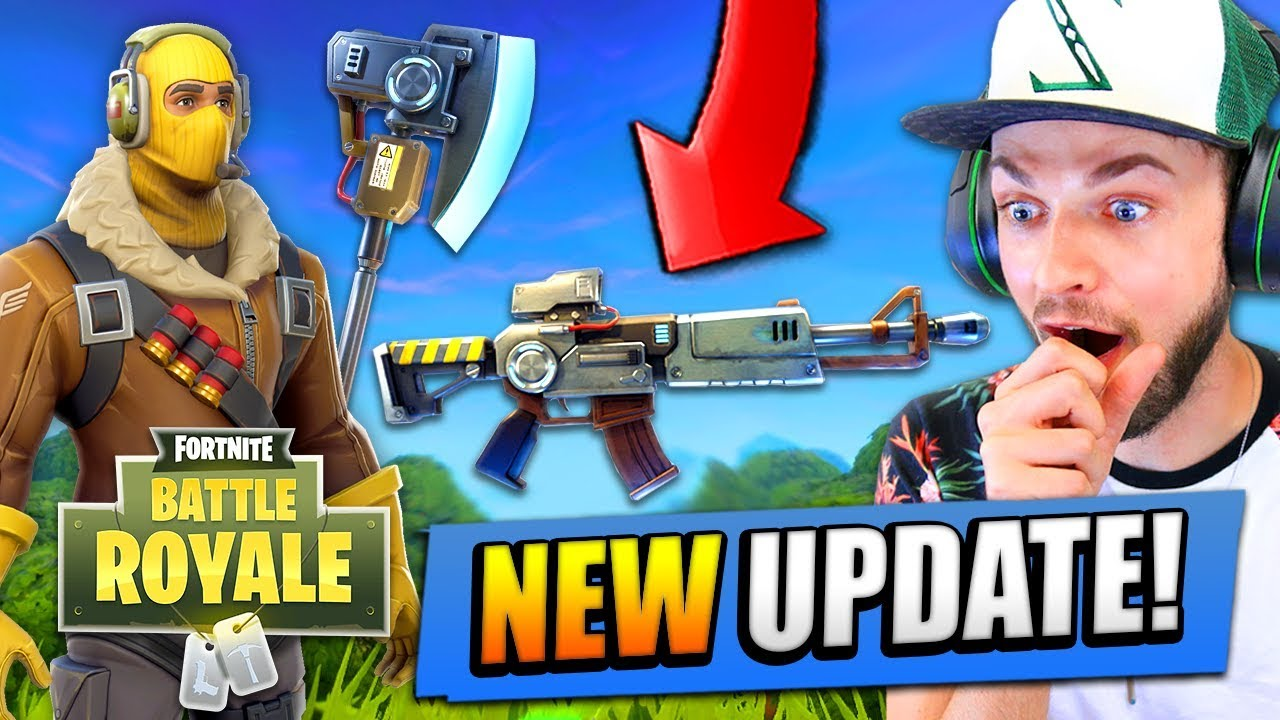 new fortnite update today