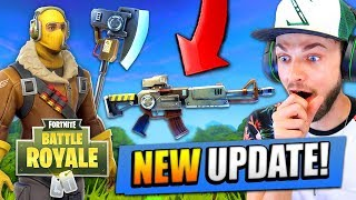 *NEW* UPDATE for Fortnite: Battle Royale! (New Guns, Maps + MORE)