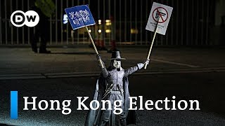 What do the protests mean for Hong Kong's local elections? | DW News
