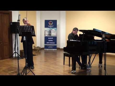 Tudor Ciortea - Sonata pentru vioara si pian in stil rapsodic romanesc, Lucian Reuţ