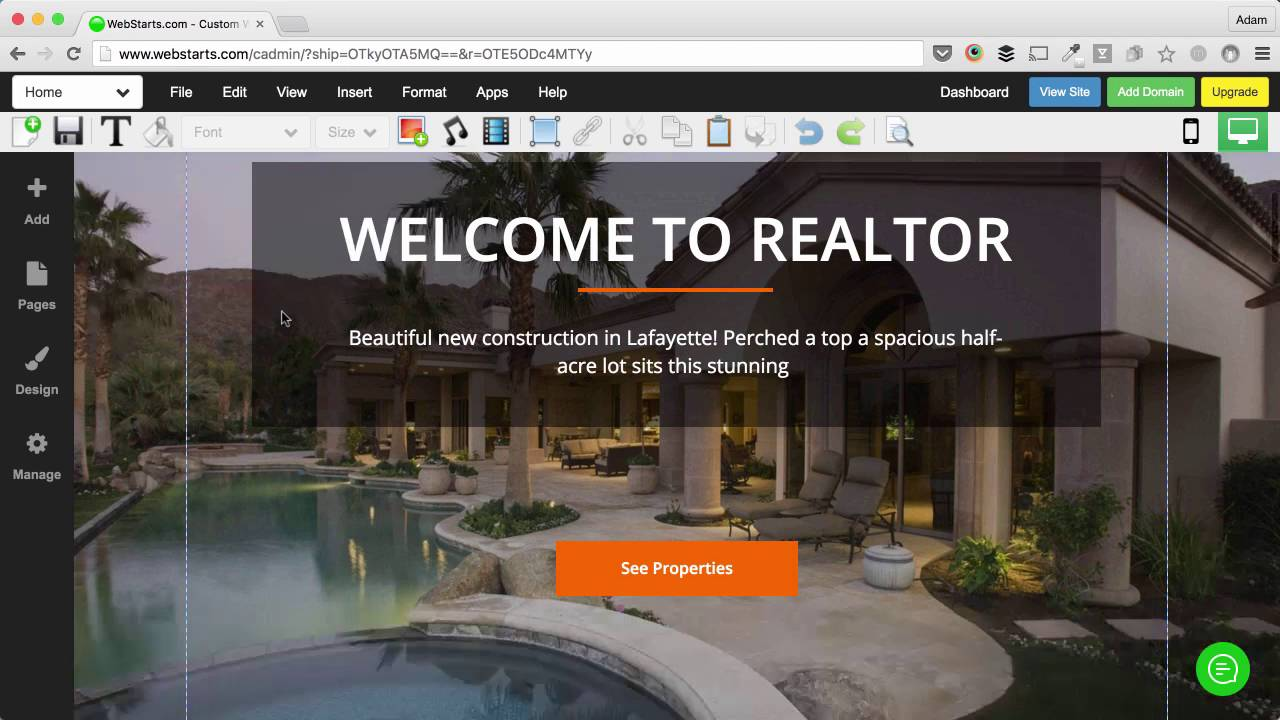 How To Customize A Real Estate Website Template Youtube