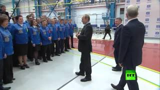 بوتين يتفقد مصنعا لتجميع منصات لإطلاق صواريخ إس-400 في نيجني نوفغورود