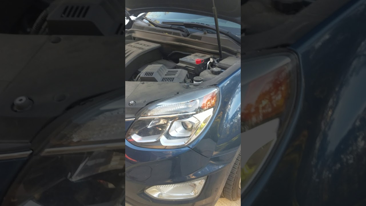 2016 chevy equinox jump start [ 1280 x 720 Pixel ]