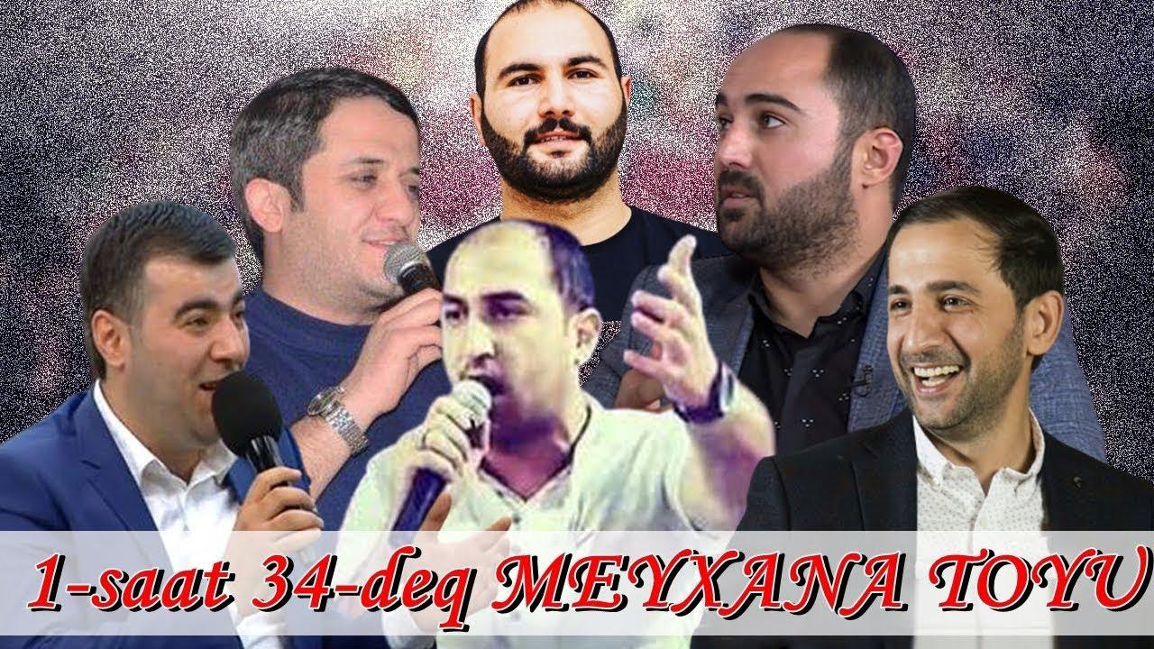 Qirgin Meyxana Toyu (1saat 34 dəq) - Resad,Vuqar,Perviz,Vasif,Orxan,Mirferid,Elsen,Aydin