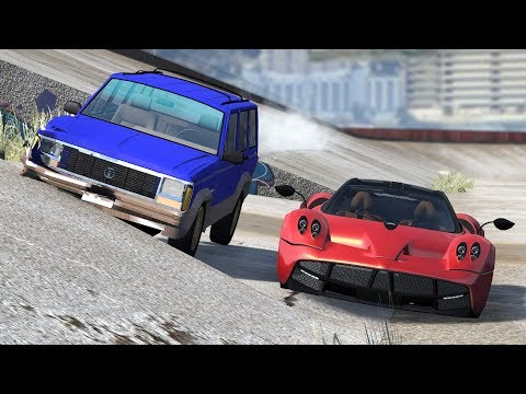 OUT OF CONTROL CRASHES #32 - BeamNG Drive | CRASHdriven