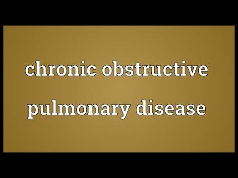 Header of chronic obstructive pulmonary disease