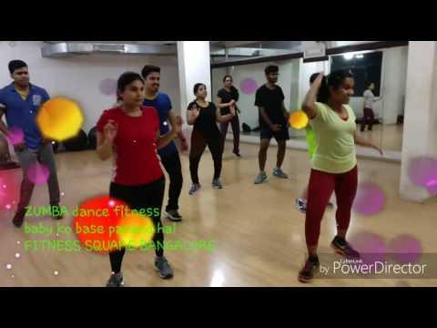Bollywood Zumba on BABY KO BASE at Fitness Square Bangalore