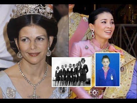 แอร์โฮสเตสสู่ราชินี! เส้นทางเกียรติยศคล้ายกันพระราชินีซิลเวียและพระนางเจ้าสุทิดาฯ สาระน่ารู้ฯ No180