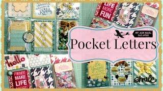 Pocket Letters! Lots of Pocket Letters!