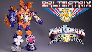 Saban's Power Rangers Super Ninja Steel - Blaze Megazord