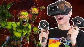 ARCADE VR ZOMBIE SHOOTER! | Drop Dead VR (HTC Vive Gameplay) #2