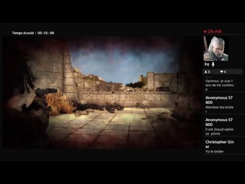 Diffusion PS4 en direct de optimus69518 sniper 4 authentique plus