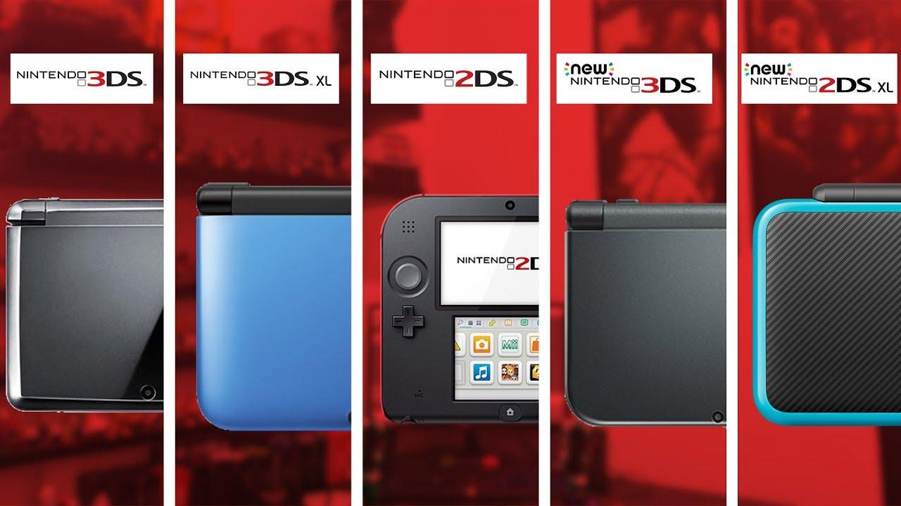 3DS - QUAIS AS DIFERENÇAS ENTRE TODOS OS MODELOS? || Duca Show - YouTube
