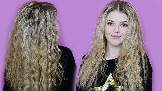 как сделать волнистые волосы от корней