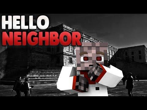Muss ich in den KNAST?!  | Minecraft Hello Neighbor