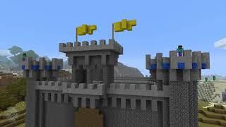 Siege on Castle Steve   Minecraft video by J!NX