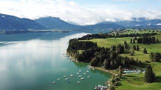 Sommer im Allgäu - Lakes, Forggensee, Weissensee, Alatsee, DJI Mavic Pro