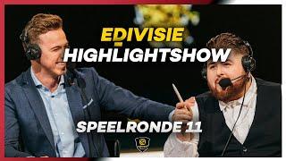 HIGHLIGHTSHOW I SLOTTA EN BAS ZIEN ECHT BIZARRE BEELDEN | SPEELRONDE 11 I eDivisie 2019-2020 FIFA20