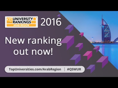 The Top 10 Universities in the Arab Region 2016