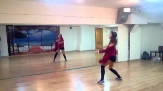 Reggaeton fusion basic steps routine | class by Jane Kornienko