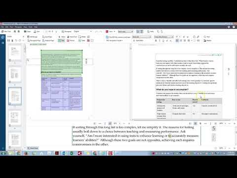 Using ABBYY Fine Reader 14 To OCR A PDF
