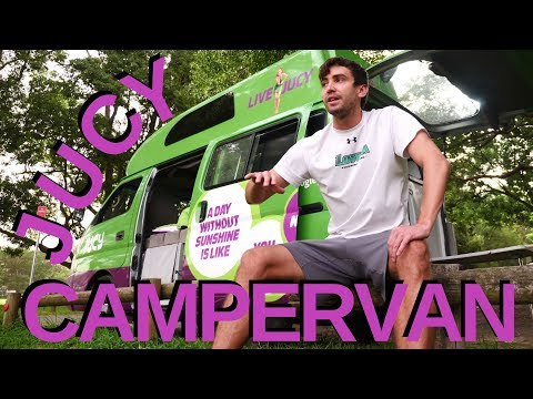 Check Out My FREE JUCY Camper Van Rental In Australia