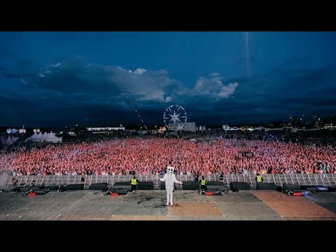 Marshmello live in weekend festival finland 2017 |crowd control| |earthquake|