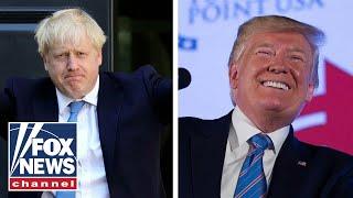 Trump praises UK's Boris Johnson as the 'Britain Trump'