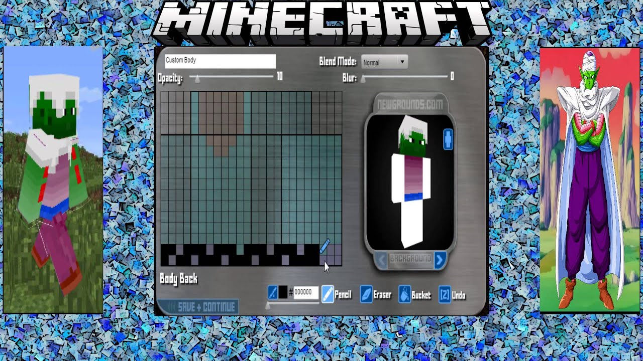 Dragon Ball Z Minecraft Skins - Year of Clean Water