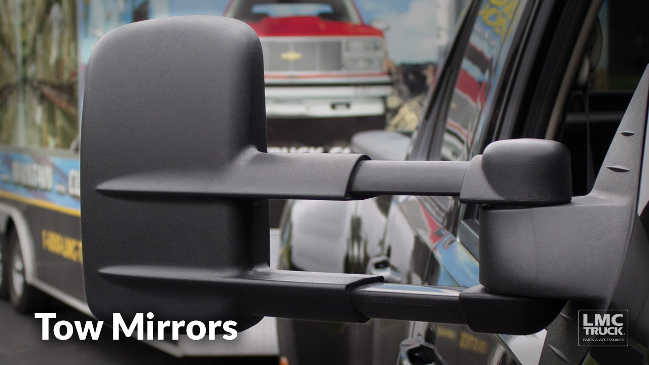 tow mirror sets upgrade your truck\u0027s rear visibility lmc trucktow mirror sets upgrade your truck\u0027s rear visibility lmc truck youtube