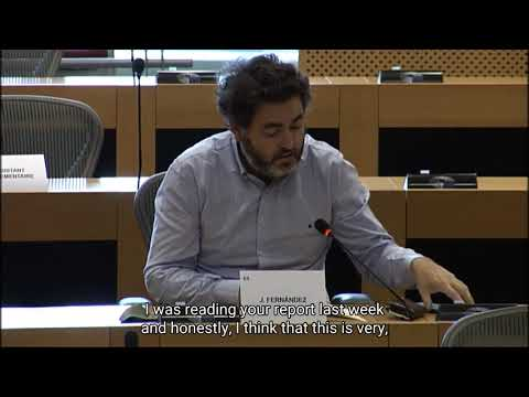 Question to the Chair of European Fiscal Board / Pregunta al presidente del Consejo Fiscal Europeo