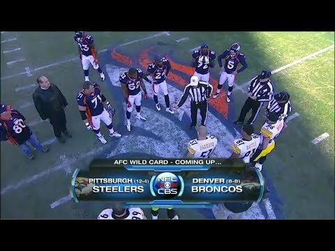 Steelers @ Broncos 2011 AFC playoffs condensed